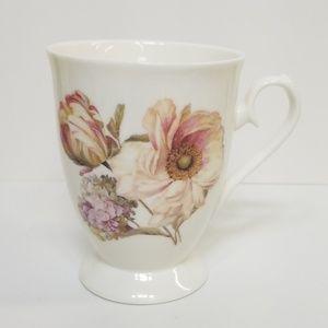 Tulip Hydrangea Flower Coffee Mug Cup